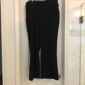 Lane Bryant black trouser pants size 20W